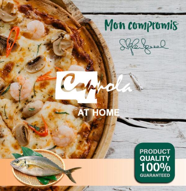 Pizzas Frutti di Mare